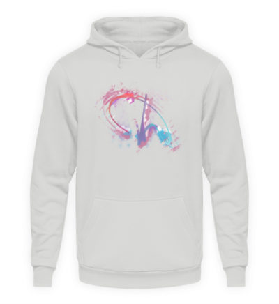 Painted D-Shirt - Unisex Kapuzenpullover Hoodie-23