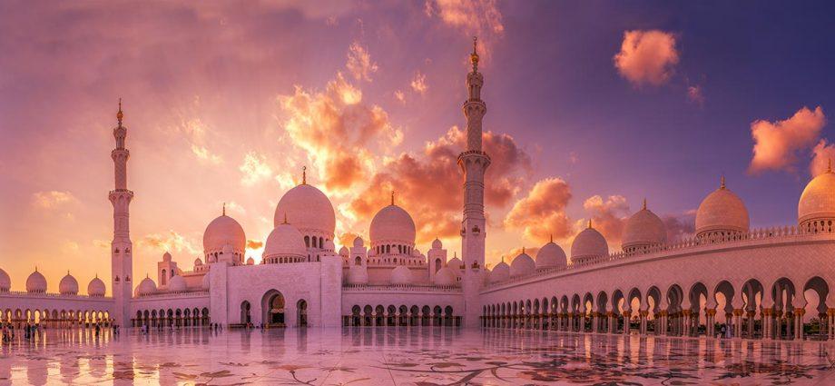 Wandbild Grand Mosque 3