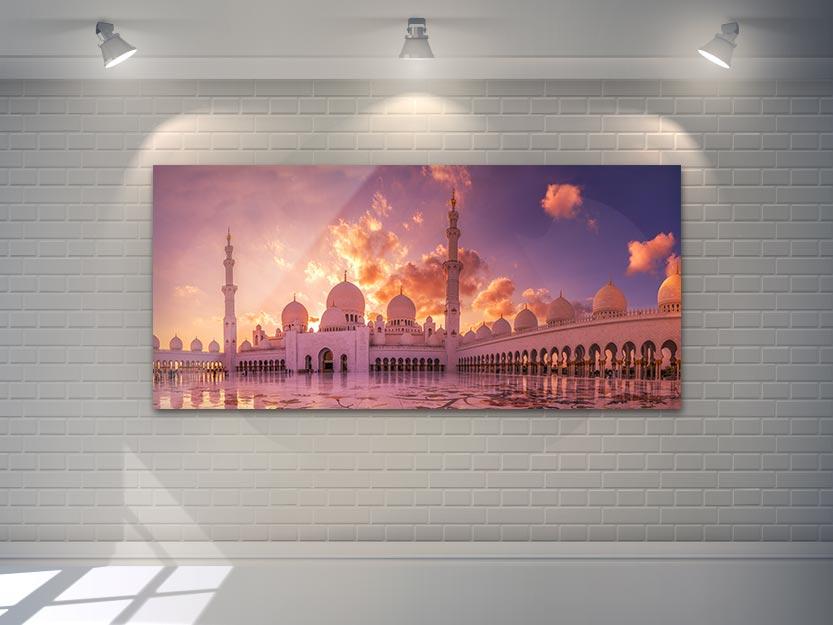 Wandbild Grand Mosque 2