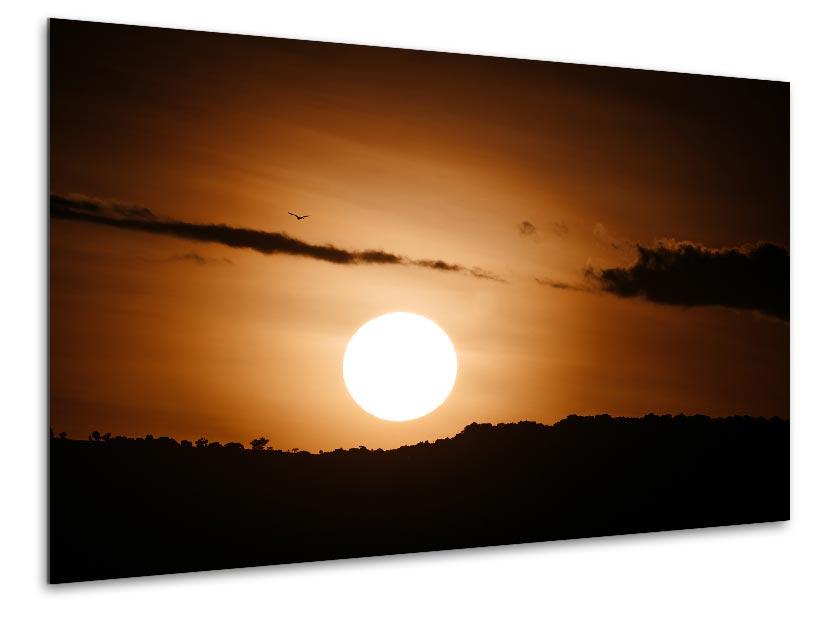 Wandbild Sonnenuntergang Kenia 1