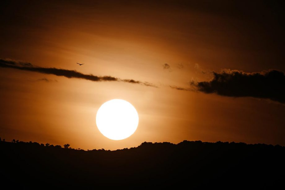 Wandbild Sonnenuntergang Kenia 3