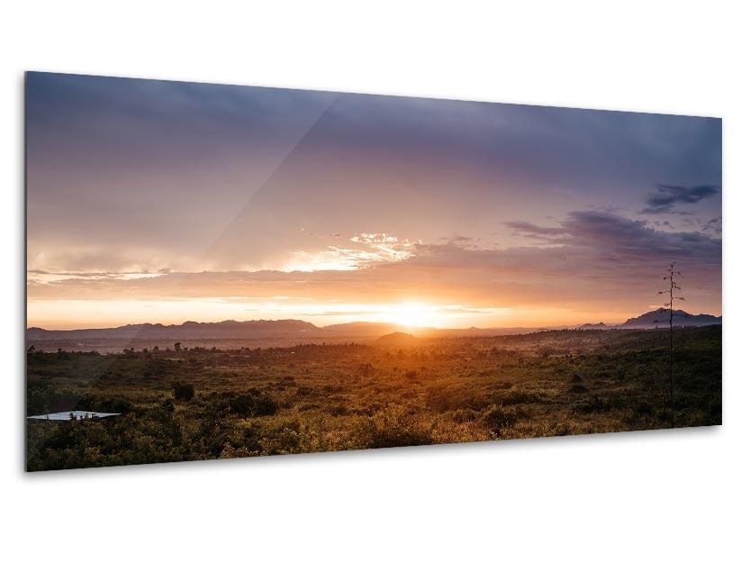 Wandbild Sonnenuntergang in Tanzania 1