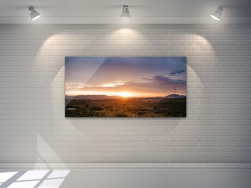 Wandbild Sonnenuntergang in Tanzania 2