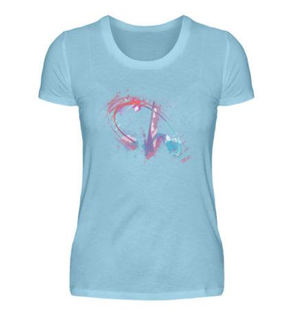Painted D-Shirt - Damen Premiumshirt-674