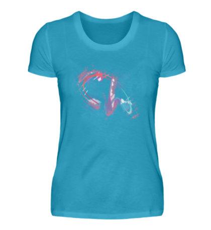 Painted D-Shirt - Damen Premiumshirt-3175