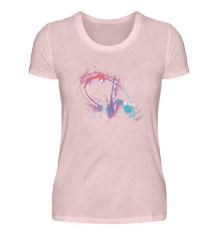 Painted D-Shirt - Damen Premiumshirt-5949