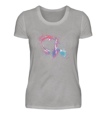 Painted D-Shirt - Damen Premiumshirt-2998