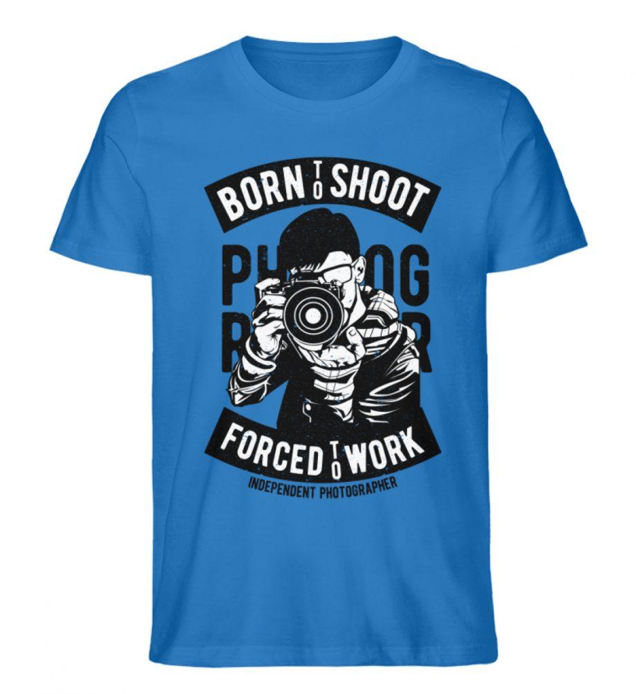 BornToShoot - Herren Premium Organic Shirt-6886