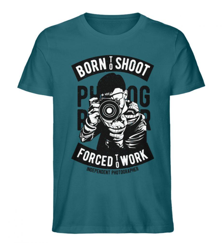 BornToShoot - Herren Premium Organic Shirt-6889