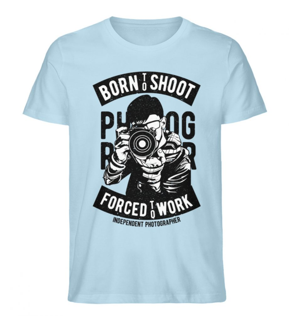 BornToShoot - Herren Premium Organic Shirt-6888