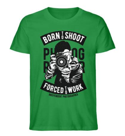 BornToShoot - Herren Premium Organic Shirt-6890