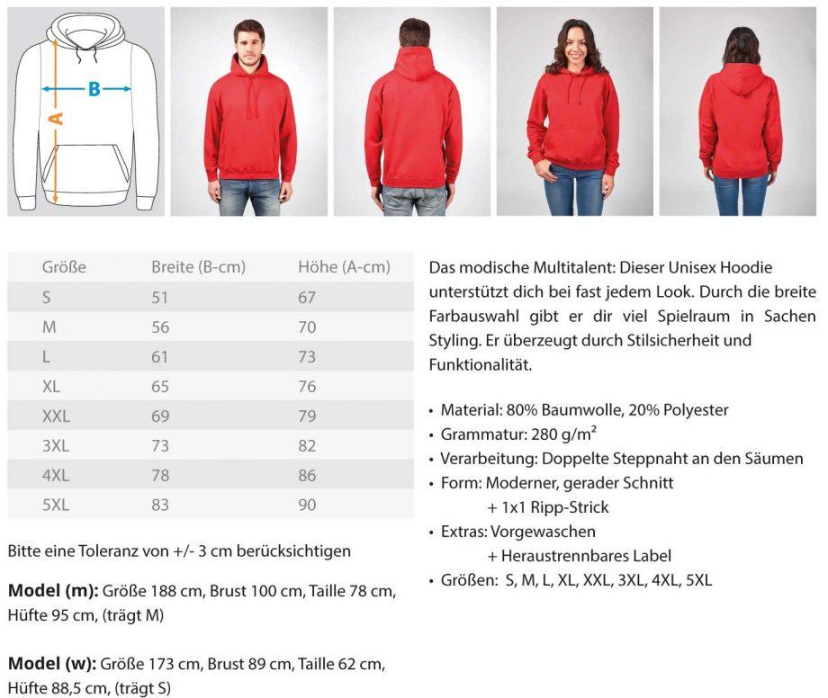 Painted D-Shirt - Unisex Kapuzenpullover Hoodie 1